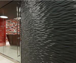 Vertical Surface:  Playboy Enterprises Lobby