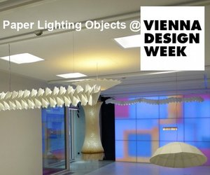 Vienna Design Week 2011 - Paper Lighting