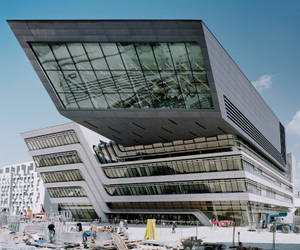 Vienna University by Zaha Hadid