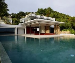 Villa Design in Thailand by Gfab Architects