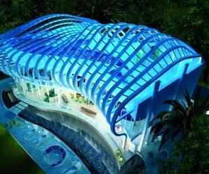 Villa in Cyprus Amazes With Its Futuristic Design