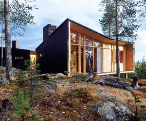 Villa Valtanen in Finland by Arkkitehtitoimisto Louekari