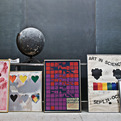 Vintage 1960s Pop Art Color Field Art Works Lithos