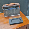 Vintage 8-Transistor GE Portable Chrome Radio