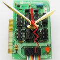 Vintage Apple Computer Circuit Board Clock