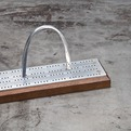 Vintage Eero Saarinen Steel Scale Model Gateway Arch
