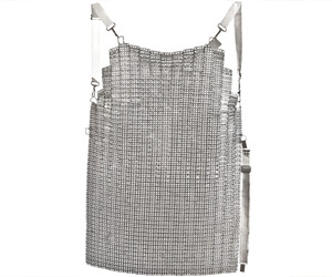 Vintage French Ultra Lamex Chain Mail Butchers Apron