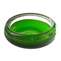Vintage Green Murano Glass Bowl at Relique.com