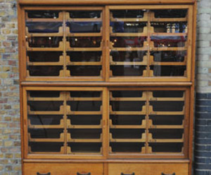 vintage haberdashery cabinet. uk. 1930