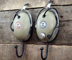 Vintage Headphone Hangers