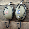 Vintage Headphone Hangers