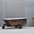 Vintage Industrial Chocolatiers Stainless Steel Tub