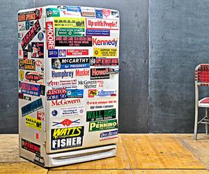 Vintage Industrial Fifties Smeg Tombstone Refrigerator