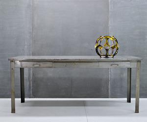 Vintage Industrial Lyon Steel Table