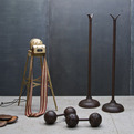 Vintage Industrial Modern50 Cast Iron Gym Equipment