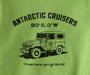 Vintage Land Cruiser t-shirts for kids.