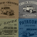 Vintage Land Cruiser T-Shirts