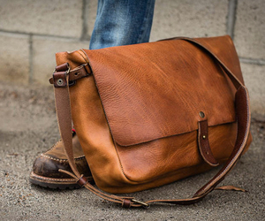 Vintage Messenger Bag | by Whipping Post