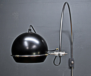Vintage Modern Dutch Gepo Arc-Eye Wall Mount Lamp