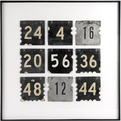 Vintage Number Art by Salvatecture Studio for Relique