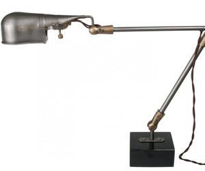 Vintage Reproduction Industrial Desk Lamp at Relique