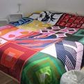 Vintage Scarf Bedspreads by Ouna Design