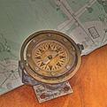 Vintage Ship's Compass