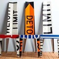 Vintage Street Sign Furniture