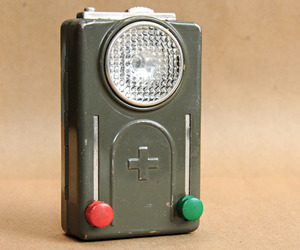 Vintage Swiss Army Flashlight