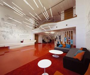 Virgin Atlantic Lobby by Checkland Kindleysides