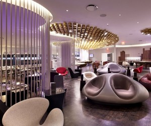 Virgin Upper Class Lounge by Slade Architecture