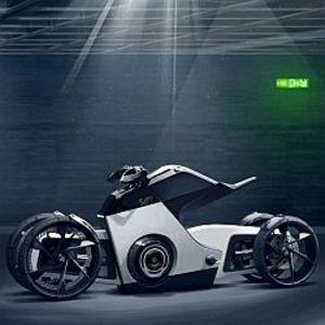 Volkswagen S4FE Concept Bike