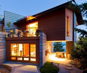 Contemporary Ocean View House