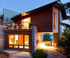 Contemporary Ocean View House