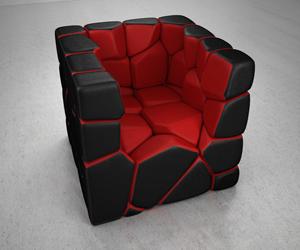 Vuzzle Chair by Christopher Daniel