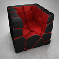 Vuzzle Chair by Christopher Daniel