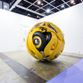 VW Beetle Morphed into Giant Sphere