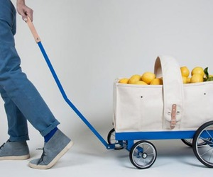 Wagon Tote by Welcome Design Studio