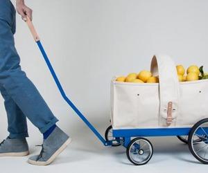 Wagon Tote by Welcome Design Studio