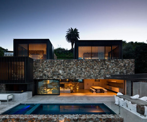 Waiheke Island Rock House by Andrew Patterson Architects