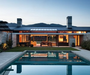 Wairau Valley House in Rapaura by Parsonson Architects