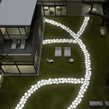 Walkover Lighting by Serralunga for a Dazzling Garden