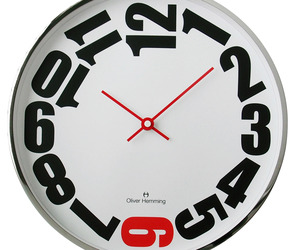 Wall Clocks by Oliver Hemming