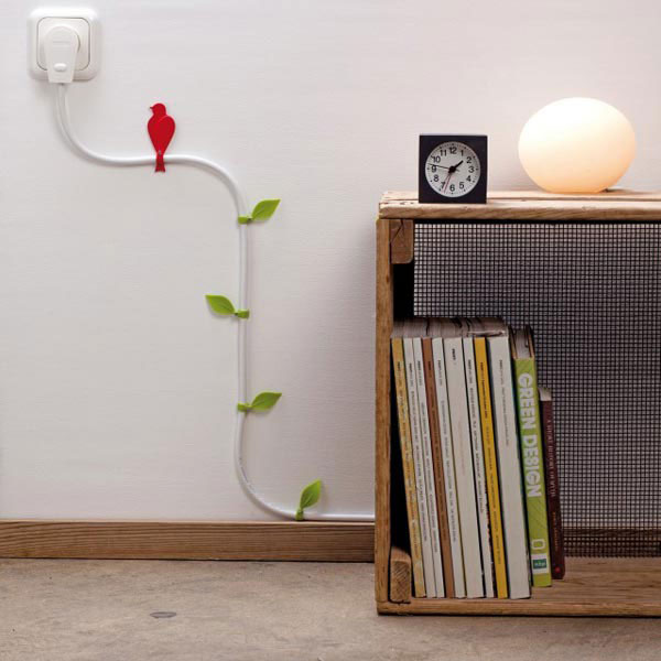 Wall Decorations To Hide The Wires