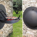 Wall-Mounted Grill