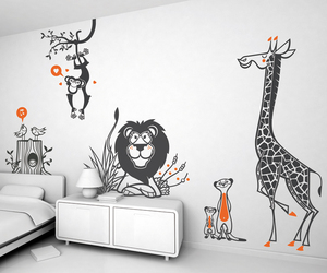 Large Scale Decals for the Wall