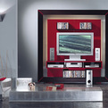 Wall Unit with TV Center From Vismara