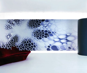 Wallcoverings by Zaha Hadid