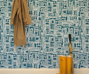 Wallpaper by Julia Rothman for Hygge and West