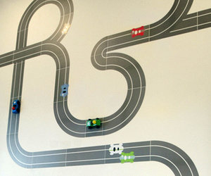 Racetrack Wallstickers by Race Ya